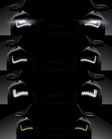 Audi A8 Vollscheinwerfer Mix