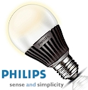 Philips Master LED 6W LED-Lampe, LED-Gl�hbirne E27, dimmbar,warmweiss