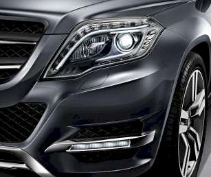 mercedes benz glk 2012 mit neuer led technik. Black Bedroom Furniture Sets. Home Design Ideas