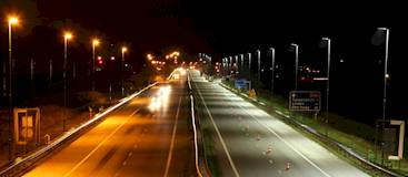 LED Autobahnbeleuchtung