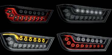 LED - OLED- Autorückleuchte