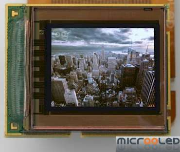 Micro OLED Display